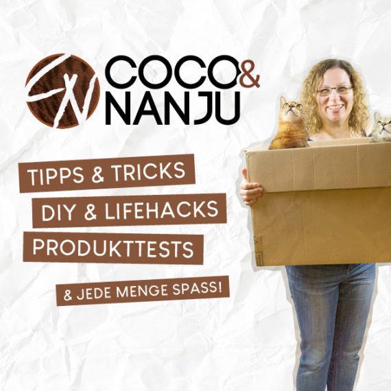 Logo von Coco & Nanju und ein Preview des neuen Designs